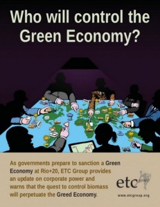 ETC Group Who will control the Green Economy