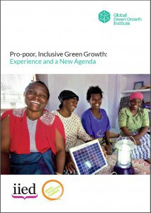 Pro-poor, Inclusive Green Growth