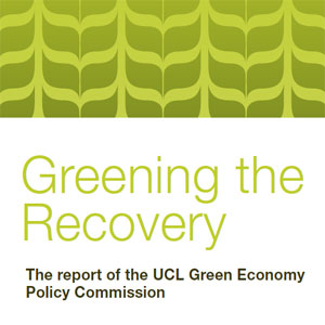 Greening the recovery (UCL)